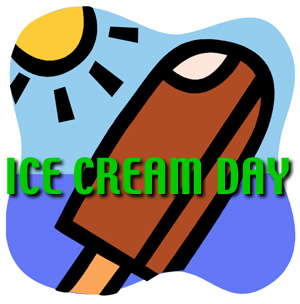ICE CREAM DAY